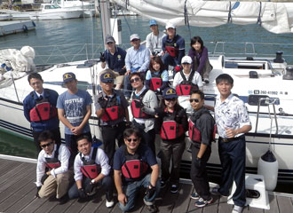 Kobe University Sailing is important for leadership