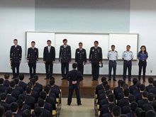 1st meeting with the cadets
