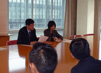 Courtesy visit to the Nippon Foundation