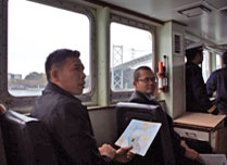 Lectures onboard PC 25 Tomonami
