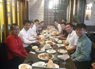 Cultural exchange over Indonesian cuisine